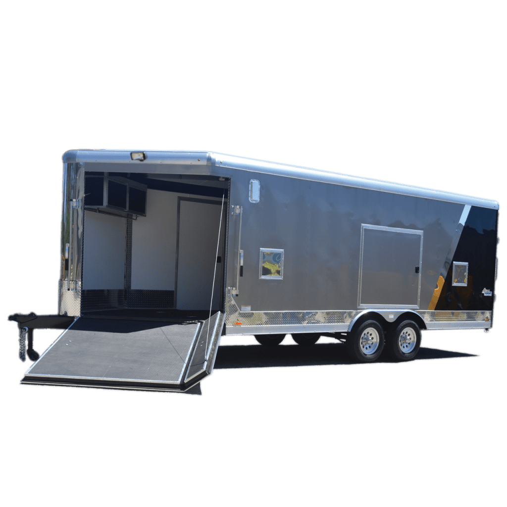 Aerosport - Motorcycle Trailer - Snowmobile Trailer - Two Tone - Pace American