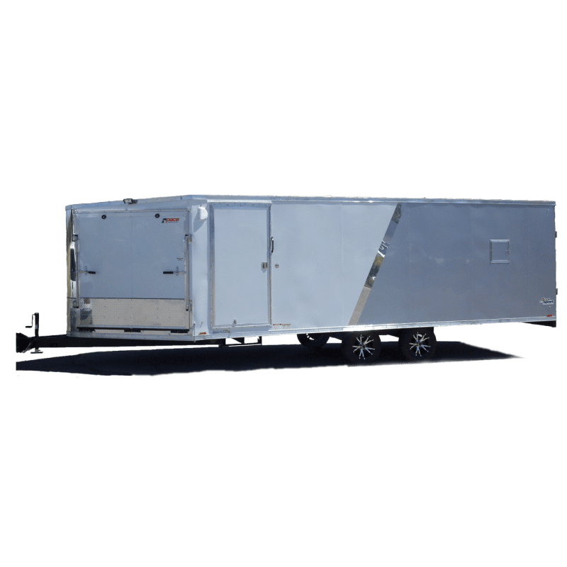 Aerosport Deckover - Motorcycle Trailer - Snowmobile Trailer - Two Tone - Pace American
