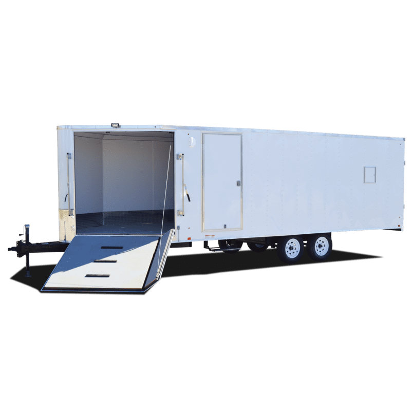 Back Country Deckover - Motorcycle Trailer - Snowmobile Trailer - Pace American Back Country Deckover - Motrocycle Trailer - Snowmobile Trailer - Pace American