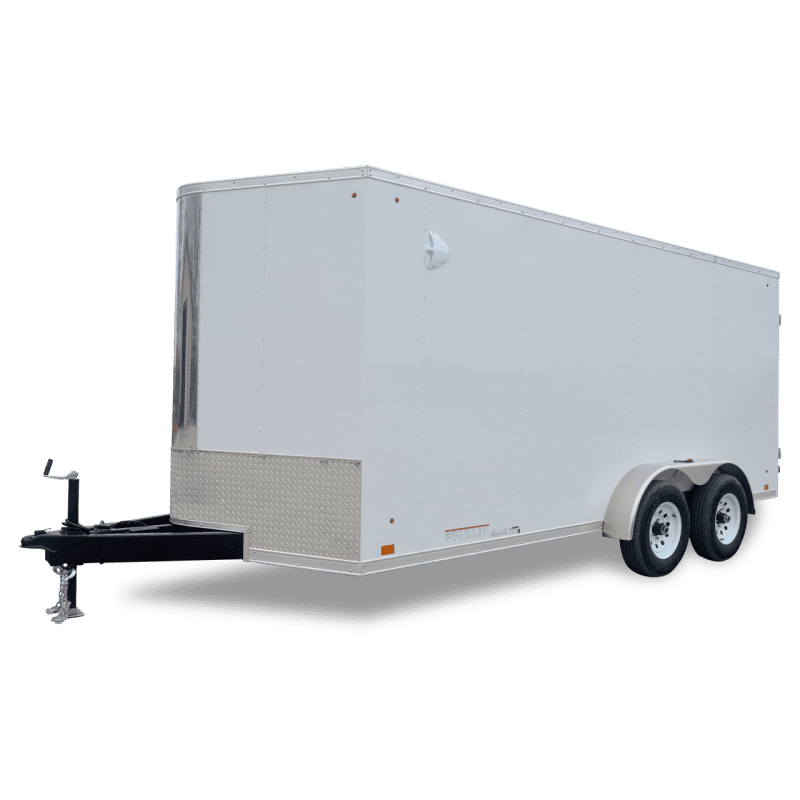 Cargo Sport - White - Cargo Trailer - Pace American