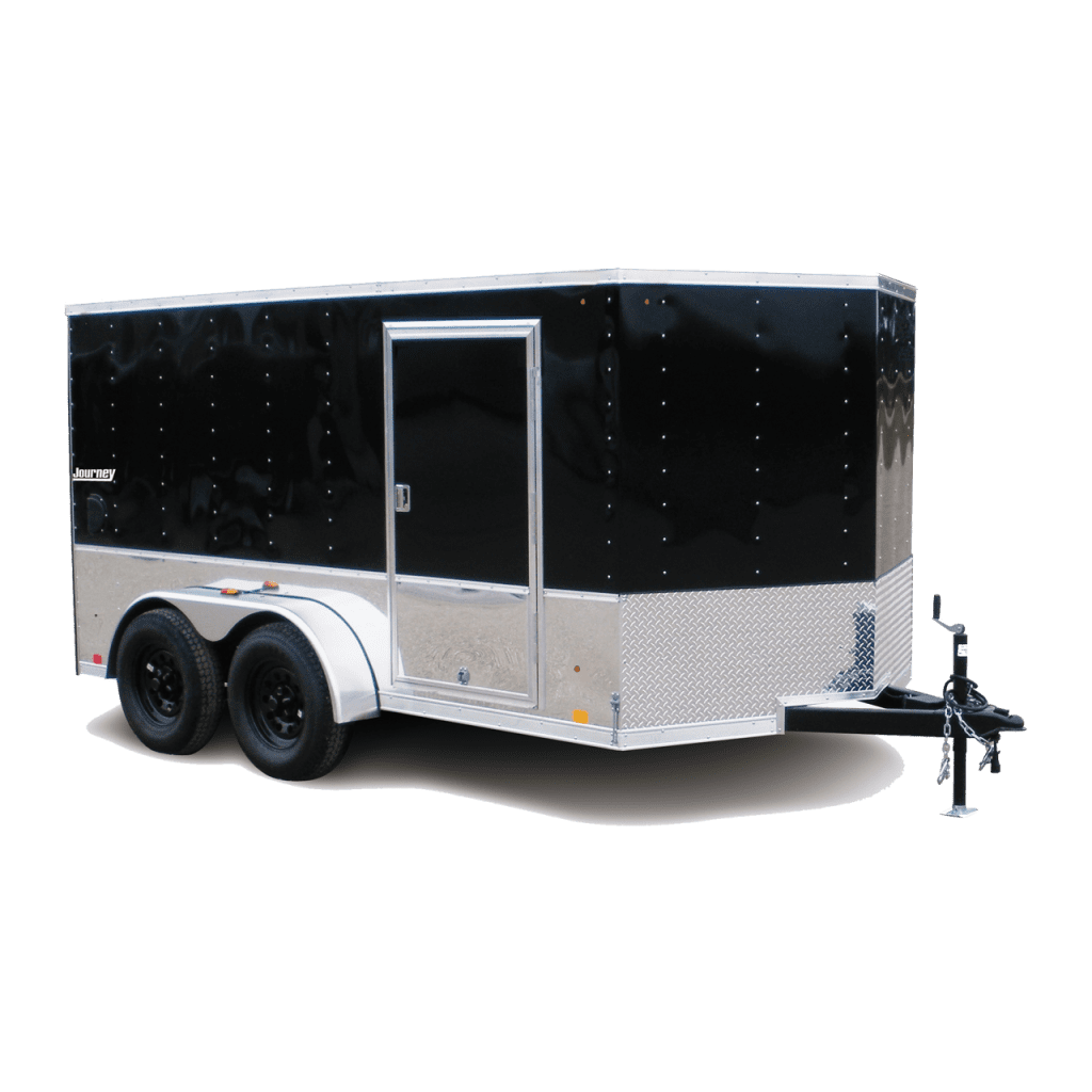 Journey - Motorcycle Trailer - Black - Cargo Trailer - Pace American