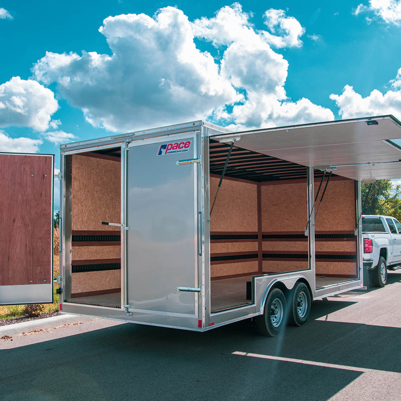 The Concession Package is specifically designed for concessionaires, these trailers serve as the perfect destination for your vending business ventures.