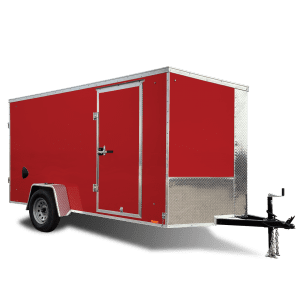 Journey SE - Cargo Trailer - Red - Pace American