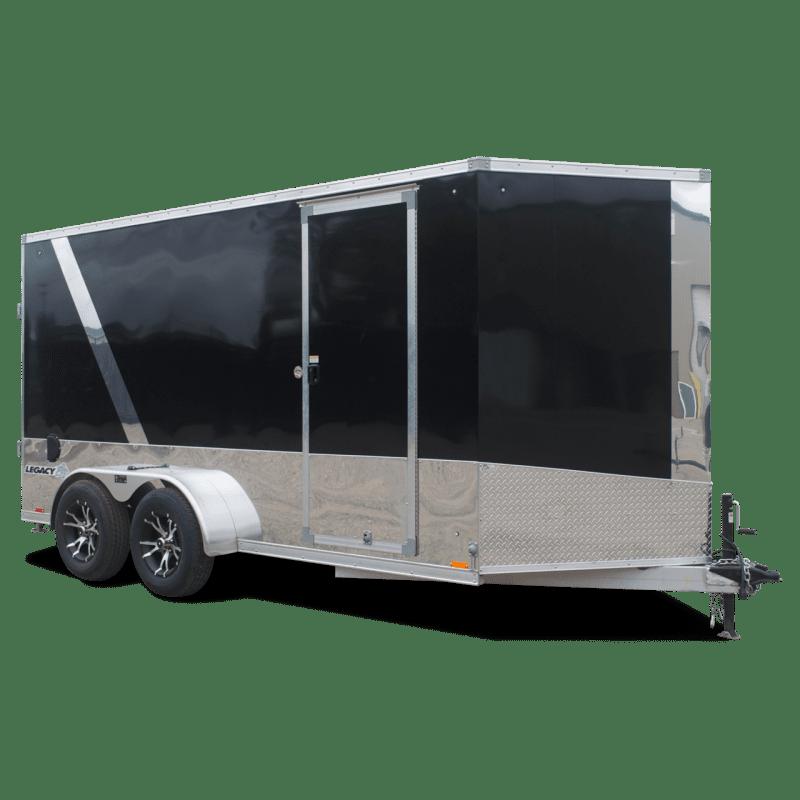 Legacy Aluminum Motorcycle Trailer - Motorcycle Trailer - Snowmobile Trailer - Cargo Trailer - Pace American