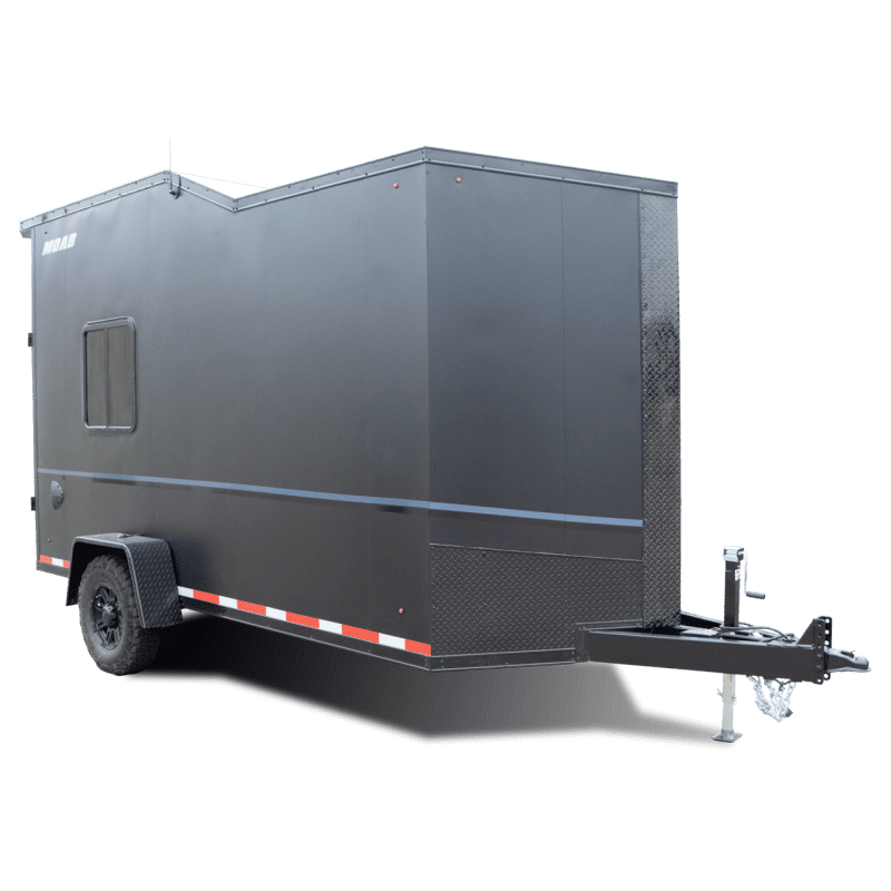 Moab - Camping Trailer - Off grid - White - Mobile Camping - Cargo Trailer - Pace American