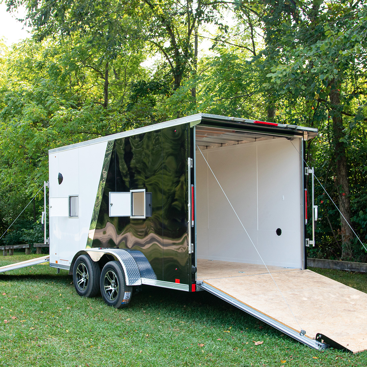 Highmark - Two Tone - Cargo Trailer - Motorcycle Trailer - Snowmobile Trailer - Pace American