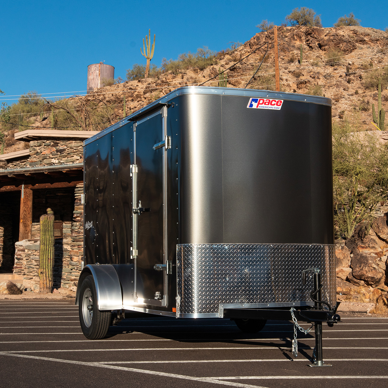 Outback DXL- Cargo Trailer - Pace American