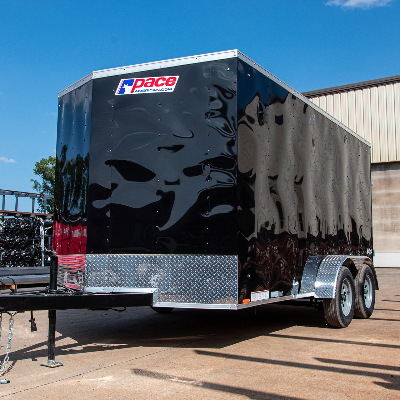 Outback Auto Hauler - Race Trailer - Cargo Trailer - Pace American