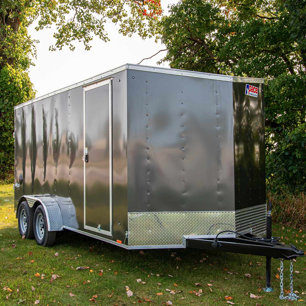 Outback DLX - Cargo Trailer - Pace American