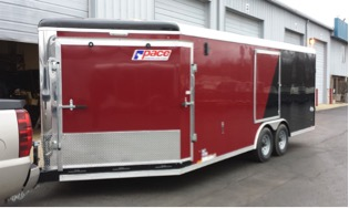 Highmark Aluminum - Motorcycle Trailer - Snowmobile Trailer - Toy Hauler - Pace American