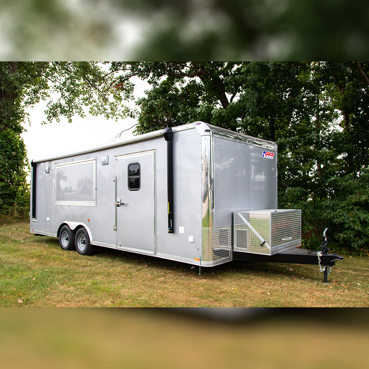 Pursuit - Custom Build - Awning - Cargo Trailer - Pace American